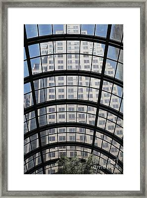 San Francisco Galleria - 5d17073 Framed Print by Wingsdomain Art and Photography