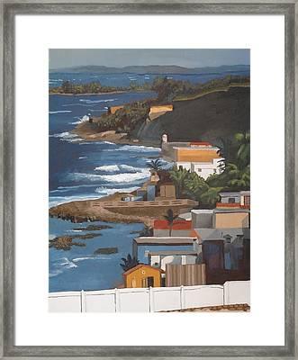 San Juan Framed Print by Alexander Buck