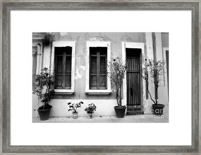 San Juan Living 2 Framed Print by Perry Webster