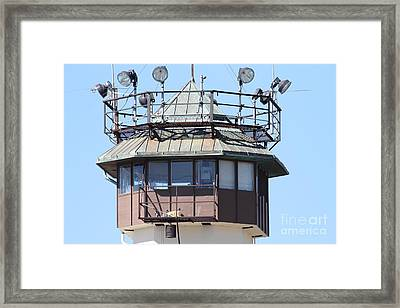 San Quentin State Prison In California - 7d18534 Framed Print by Wingsdomain Art and Photography
