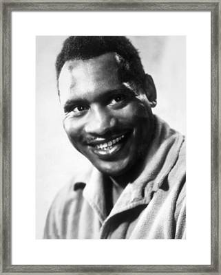 Sanders Of The River, Paul Robeson, 1935 Framed Print by Everett