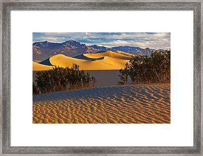 Sands Of Time Framed Print by Guy Schmickle