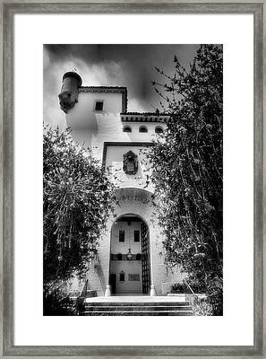 Santa Barbara Courthouse I Framed Print by Steven Ainsworth