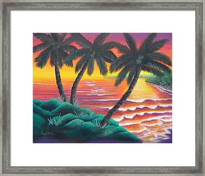 Santa Cruz Framed Print by Diana Lehr