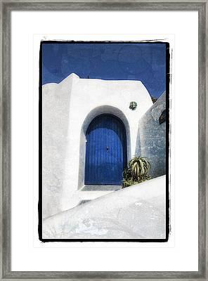 Santorini 1 Framed Print by Mauro Celotti