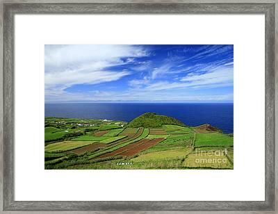 Sao Miguel - Azores Islands Framed Print by Gaspar Avila