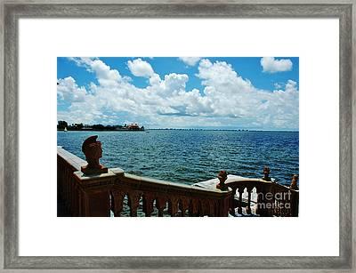 Sarasota Bay In Florida Framed Print by Susanne Van Hulst