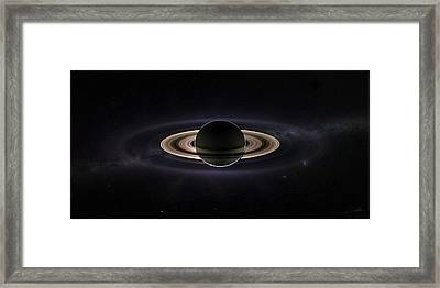 Saturn Framed Print by Dale Jackson