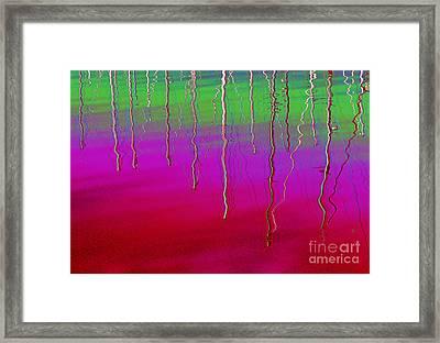 Sausalito Bay California In Color Framed Print by Ausra Huntington nee Paulauskaite