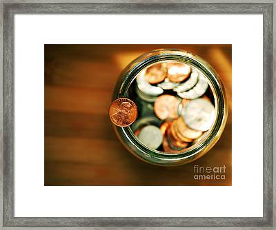 Save Framed Print by HD Connelly