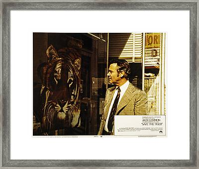 Save The Tiger, Jack Lemmon, 1973 Framed Print by Everett