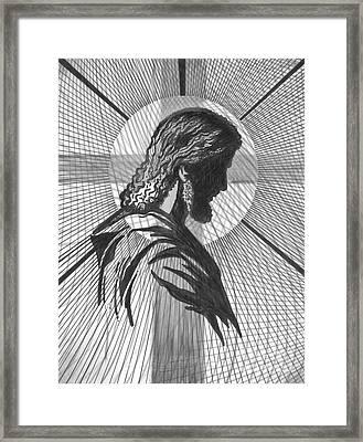 Saviour Framed Print by Peter Olsen