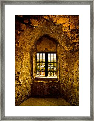 Saxon View Framed Print by Dawn OConnor