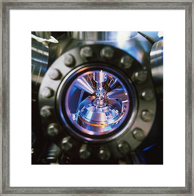Scanning Electron Microscope Framed Print by Colin Cuthbert