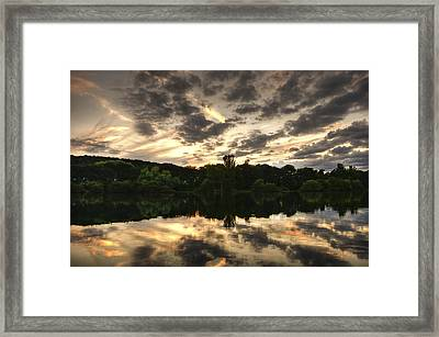 Scarborough Mere Framed Print by Svetlana Sewell