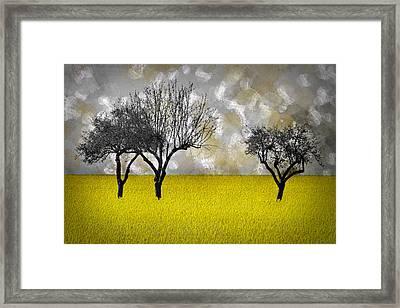 Scenery-art Landscape Framed Print by Melanie Viola