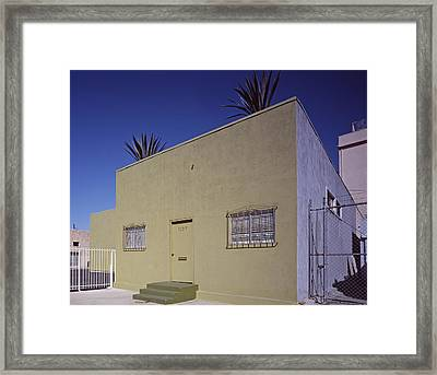 Scenes Of Los Angeles, A Nondescript Framed Print by Everett