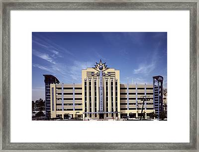 Scenes Of Los Angeles, The Parking Framed Print by Everett