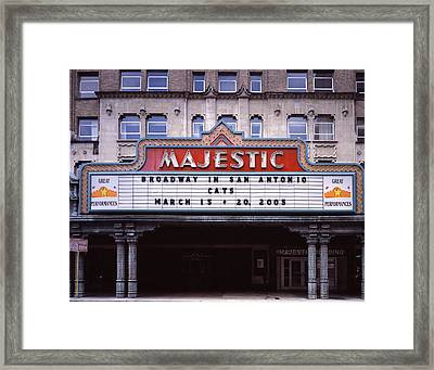 Scenes Of Texas, The Majestic Framed Print by Everett