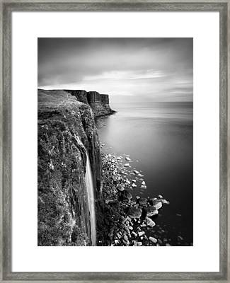 Scotland Kilt Rock Framed Print by Nina Papiorek