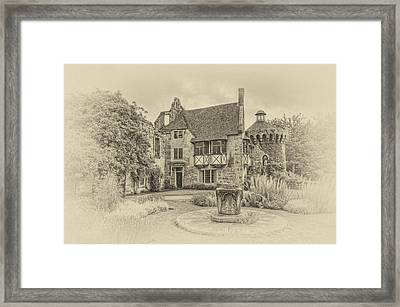 Scotney Castle Framed Print by Chris Thaxter