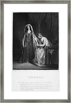 Scott: Ivanhoe, 1832 Framed Print by Granger