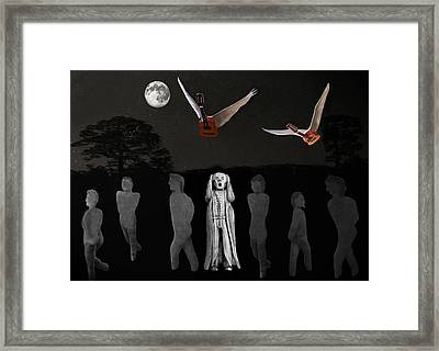 Scream I Love Rock And Roll Framed Print by Eric Kempson