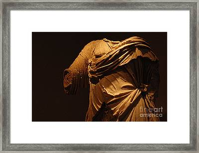 Sculpture Olympia 1 Framed Print by Bob Christopher