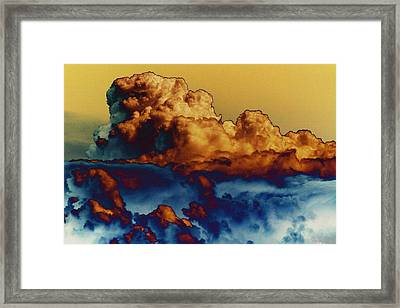 Sea And Sky Framed Print by One Rude Dawg Orcutt