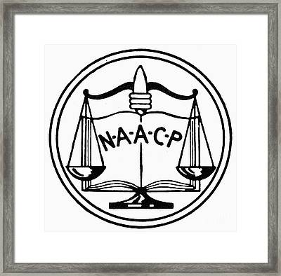 Seal: Naacp Framed Print by Granger
