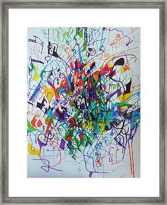bSeter Elyion 33 Framed Print by David Baruch Wolk