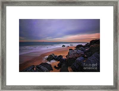 Seascape Framed Print by Paul Ward