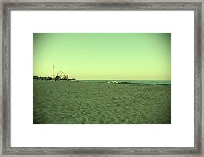 Seaside Park II - Jersey Shore Framed Print by Angie Tirado