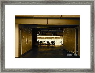 Season's End Framed Print by James Blum