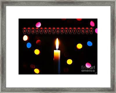 Seasons Greetings Framed Print by Nishanth Gopinathan