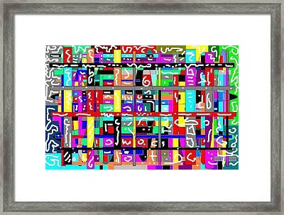 Secret Code Framed Print by Jerry Conner