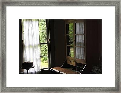 Secretary Desk Framed Print by Scott Hovind