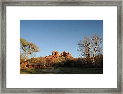 Sedona 017 Framed Print by Earl Bowser