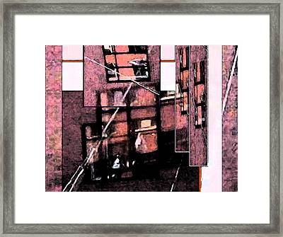 See Through Framed Print by Gretchen Wrede