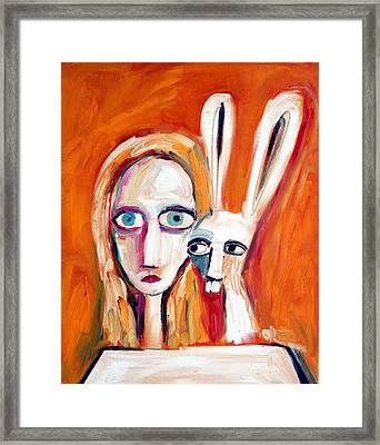 Seeking Framed Print by Leanne Wilkes