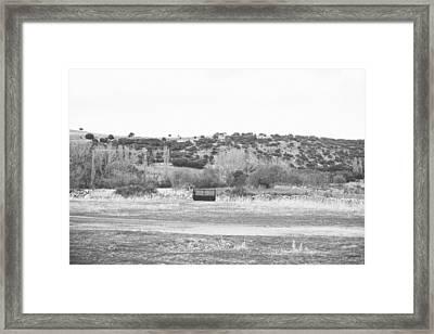 Segovia Gate Framed Print by Ariane Moshayedi