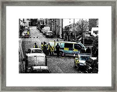 Seige Framed Print by Paul Howarth
