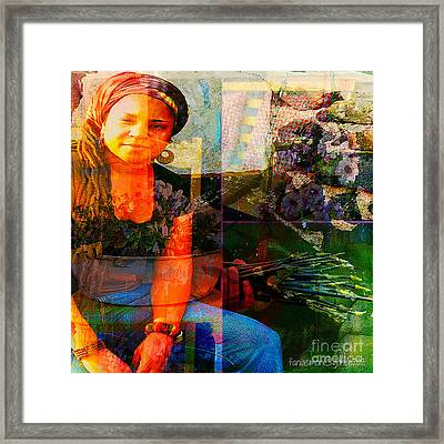Self - Growing Inside Out Framed Print by Fania Simon