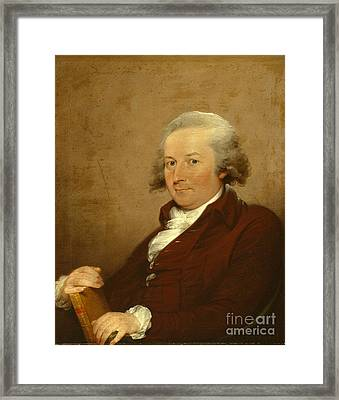 Self-portrait Framed Print by John Trumbull