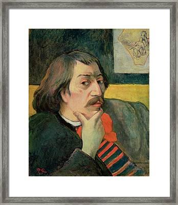 Self Portrait Framed Print by Paul Gauguin