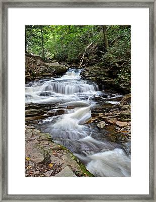 Seneca Falls Framed Print by Frozen in Time Fine Art Photography