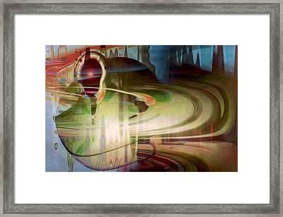 Sensing The Spheres Framed Print by Linda Sannuti
