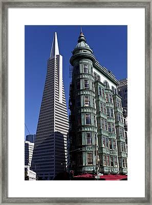 Sentinel Building San Francisco Framed Print by Garry Gay