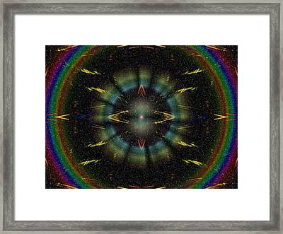Separation Framed Print by Tim Allen