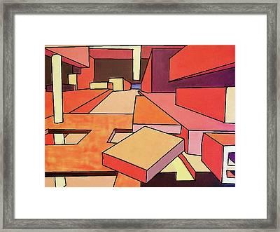 September Color Framed Print by Charlie Harris